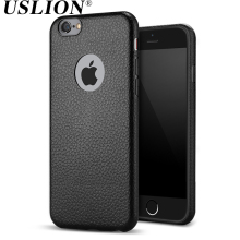 For Apple iPhone 6 6s 6 6s Plus Luxury Ultraslim Anti-knock Leather Phone Case Soft TPU Back Cases Cover funda For iphone 6