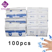 Moglad Nail Gel Lacquer Polish Foil Remover Wraps with Box UV Removable Environmental Easy Cleaner Gel Nail Wraps(China)