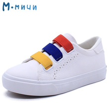 MMNUN Children Shoes Girls Boys Casual Shoes Summer Breathable Leather Kids Sports Shoes Toddler Boys Girls Sneakers Size 26-31(China)