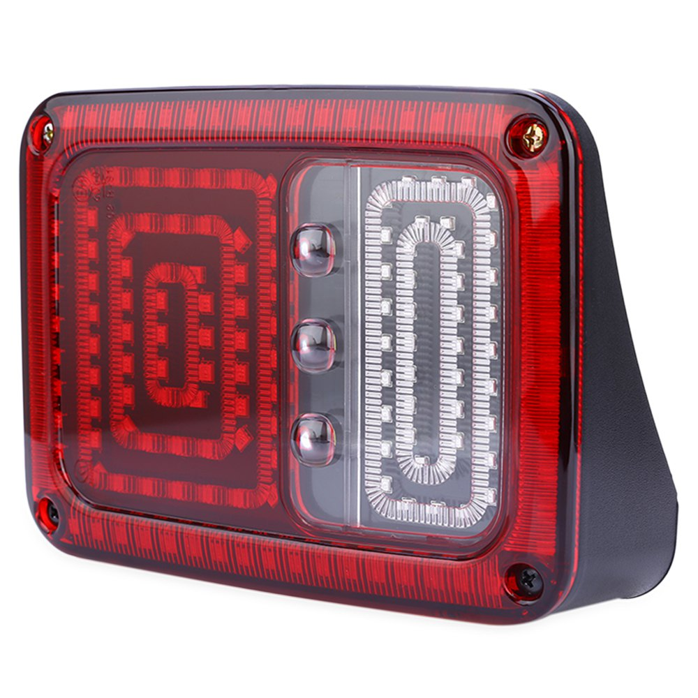 2PCS OL - JT02 - 12V 18W LED Automobile Tail Light Low Consumption Plastic Shell Water Resistant Decorated for Jeep Wrangler<br><br>Aliexpress