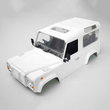 High Quality RC Rock Crawler 1:10 Land Rover Defender D90 White Car Shell RC4WD Crawler D90 DIY Bodies