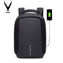 XD Design Anti Theft Bobby Backpack Male Smart Waterproof Computer Backpack Men Rucksack USB Charging Laptop Backpack School Bag(China)