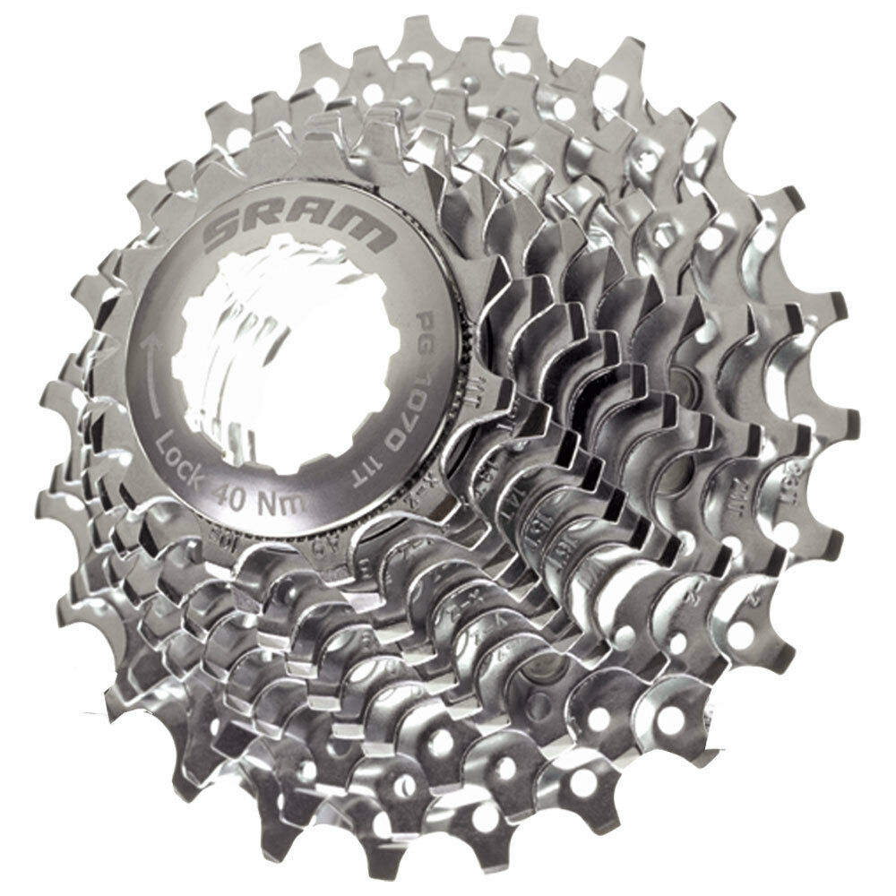NEW SRAM PG-1030 CASSETTE 10 SPEED 11 // 26T, FIT APEX RIVAL FORCE RED /& SHIMANO