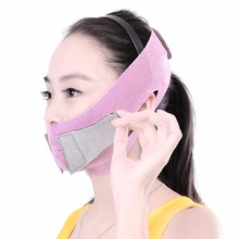 1 pcs Beauty V-Line Face Mask Belt Chin Neck massage Jaw Balancing Sleeping Lift up Sheet Micro Plastic Of Face Big Sale