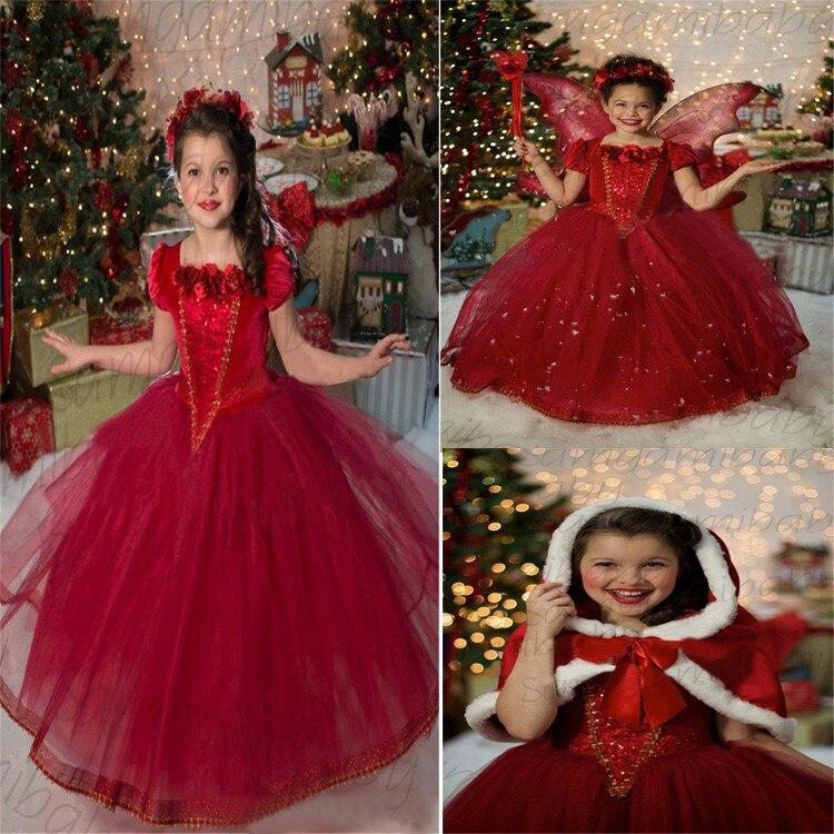 Платье для девочки на новый год принцесса