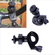 Buy Bicycle Mount Handlebar Handle Motorcycle Tripod Holder Clamp Adapter Gopro Hero 5 3 4 2 SJCAM SJ4000 Xiaomi Yi Sport Camera for $2.49 in AliExpress store