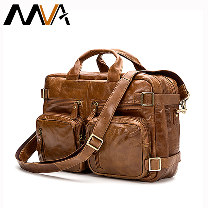MVA Mens Crossbody Bags Multifunction Shoulder Bag Genuine Leather Men Bag Handbag Men Leather Luggage Travel Duffle Bags<br><br>Aliexpress