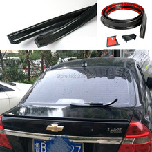 1.5METTER FIT Chevrolet  top racing Style Automotive Universal Spoiler can be use for roof / hatch gate/ trunk / bonnet