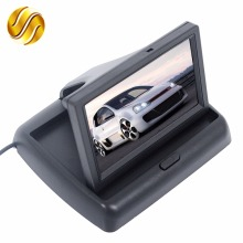 "Car Monitor 4.3"" Display for Rear View Camera Foldable Color TFT LCD  4.3 Inch HD Screen For Car Reverse"