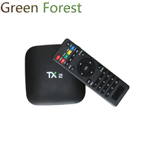 2017 TX2-R2 Android TV Box Rockchip RK3229 Quad core 2G/8G Wifi Android 6.0 Bluetooth Media Player Set top Box PK V88