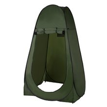 Outdoor Pop Up Camouflage Tent 180T Camping Shower Bathroom Privacy Toilet Changing Room Shelter Single Moving Folding Tents(China)