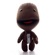 Limited Sony Little Big Planet Cloth Toy Coffee Games Knot Dolls Toys Stuffed Kids Developmental Baby Dolls 6*3Inches(China)