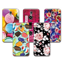ZTE V7 Lovely Fashion Painted Cases ZTE Blade V7 Case 5.2 inch Cover Art printed Soft TPU Funda ZTE Blade V7 V 7+Free Gift