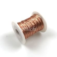 20M/lot 0.1X100 shares beam light strands twisted copper wire multi-strand Litz round copper wire sold by the meter