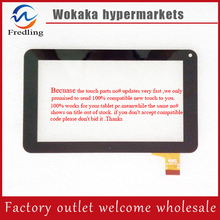 "Original 7"" EVOLVEO XtraTab 7 Q4 16GB DVB-T Tablet touch screen digitizer panel Glass Sensor Replacement free shipping"