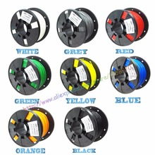 DIY 3d printer filament more colors Optional ABS 1.75mm MakerBot RepRap plastic Rubber Consumables Material