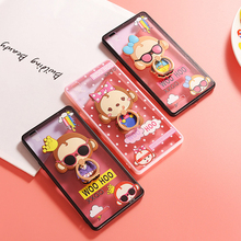 Fancy 3D Cartoon Monkey Silicone Case For OPPO A33 A37 A53 A59 FIND 9 Hard Plastic PC Stand Holder Back Phone Cover