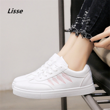 Buy 2018 women Running Shoes women leather Sport Shoes Breathable Outdoor Athletic Walking Sneakers Lightweight Jogging Shoes for $15.90 in AliExpress store