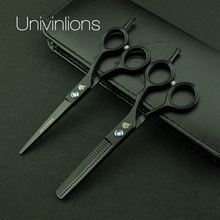 "univinlions 5.5"" best barber hairdressing scissors hairdresser japanese cutting shears hot hair scissors haircut tijeras ciseaux"