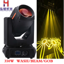 new arrive 350W 17R sharpy moving head beam spot wash 3 in 1 stage light double prism double gobo wheels for show disco(China)