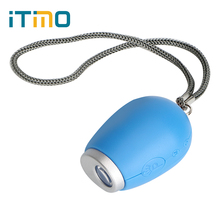ITimo Novelty Lighting LCD Clock Lamp Keychain Light Best Gift For Children Portable Projection Mini Red Light(China)