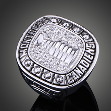 Montreal Canadiens Stanley Cup Championship Ring Ice Hockey Replica Sports Ring Without Rhinestone Men Fans Collection J02090