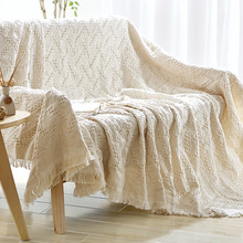 Knitted Blanket Bed Banket 100% Cotton Super Soft Blanket on the bed / Sofa Cover Blanket 130*180/220*250cm Free shipping
