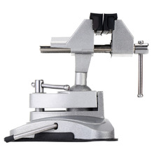 360 degree Bench Vice Grinder Accessory Electric Drill Stand Holder Electric Drill Rack Multifunctional bracket used for Dremel(China)