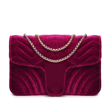 New Arrival Small Suede Handbags Women Diamond Lattice Messenger Bags Crossbody Shoulder Bags Women Clutches ElUnico 6025(China)