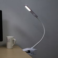 LED Clip Light Type Desk Clamp Lamp Dimming Reading Eye-protection USB Table Lights Dimmable Table Lamp with 27 LEDs