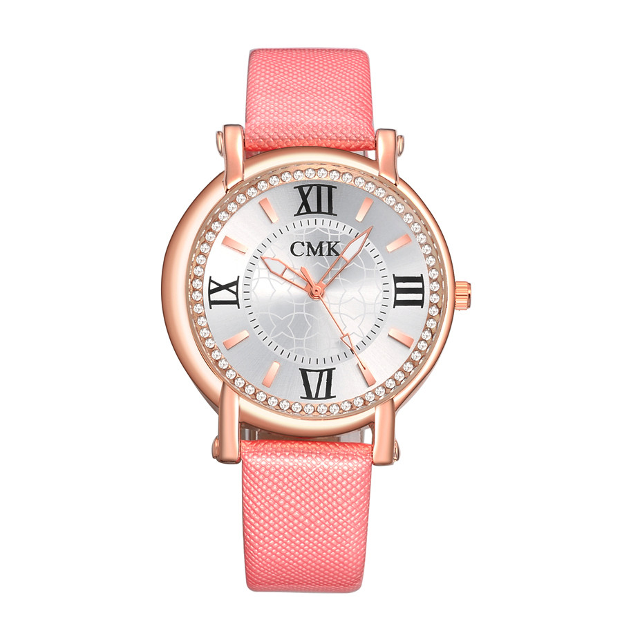 watch women 2016 gold luxury brand PU Leather  Analog Sport Quartz Wrist Black womens Watchs relojes hombre Watches for girls<br><br>Aliexpress