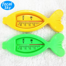 Floating Fish Baby Water Thermometer Tub Water Temperature Sensor Infant Baby Temperature For Water Plastic Float Bath Toy SW02