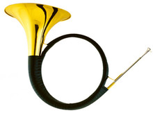 Bb Hunting Horn With Foambody case Brass Wind Musical instruments Shipping time 10-13 days Musical instruments