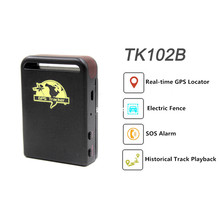 Car GPS Tracker  TK102B  RealTime GPS Tracker SOS Alarm  GSM GPRS System Remote Control  Standby Time GPS Locator  LBS Position
