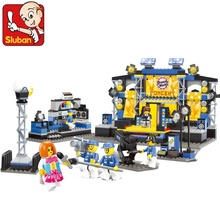 Sluban Performing Competition 416 Mini Bricks Set Sale Dream Show Educational Building Blocks Toys for Children B0170