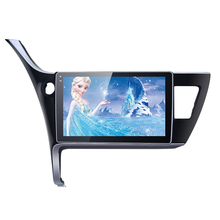 10.1 inch  Android 6.0 Quad Core Car GPS Bluetooth Navi Radio USB Media Player For Toyota Corolla 2017(LHD)  #AM4211