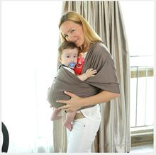 Hot Sale New Style Baby Ring Sling Solid Color 95% Cotton Baby Wrap Carrier Infant Baby Sling Stretch Wrap Carrier Baby Backpack