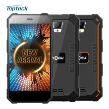 "NOMU S10 IP68 Waterproof Shockproof 5000mAh OTG 4G Smartphone Android 6.0 Quad Core MTK6737 5.0"" IPS 2GB+16GB 8MP Mobile Phone"
