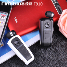 F910 Fineblue Bluetooth Stereo Headset BT 4.0 Vibration Alert Multi-connection Headset Ear Phone Cable with Handsfree Clip