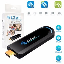 EZcast 2.4G WiFi HDMI Dongle DLNA TV stick wireless receiver Miracast AirPlay for iOS Android Xiaomi(China)