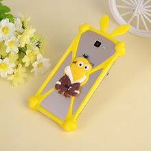 Cute Cartoon Silicone Universal Cell Phone Cases Fundas For Ipro Wave 4.0 Silicone Phone Cover Capa