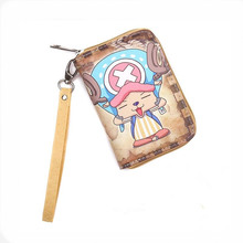 Cartoon wallet NARUTO Tony Tony Chopper Many styles zipper short wallet