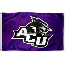 Abilene Christian Allegiance Team American Outdoor Indoor Football College Flag 3X5 Custom USA Any Hockey Flag(China)