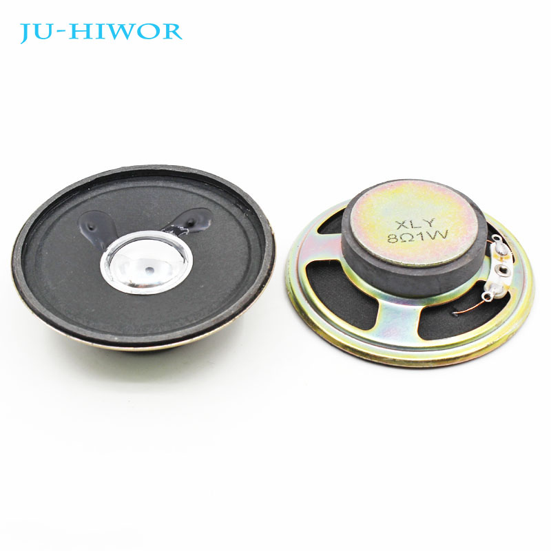 2pcs High Quality Round 8Ohm 0.5W 32MM Thick 5.2MM For DIY Speaker