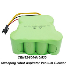 UNITEK 12V SC 3500mAh NI-MH Rechargeable Battery Pack for ECOVACS CEN82 800 810 830 Sweeping robot Aspirator Vacuum Cleaner