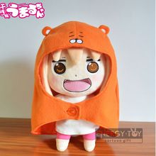 "Anime Sankaku Head Himouto Doma Umaru 10""/25cm MARMOT stuffed toy lovely girl soft plush doll fgure for children Christmas gift(China)"