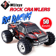 Wltoys A979 RC Rock Crawlers Climbing RC Car 1/18 2.4Ghz 4WD Monster Remote Control Truck 50KMH Racing Truck Toys For Children