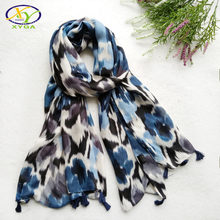 1PC 2017 Autumn New Arrival Leopard Printed Cotton Women Long Tassels Scarf  Soft Woman New Viscose Long Big Shawls Pashminas