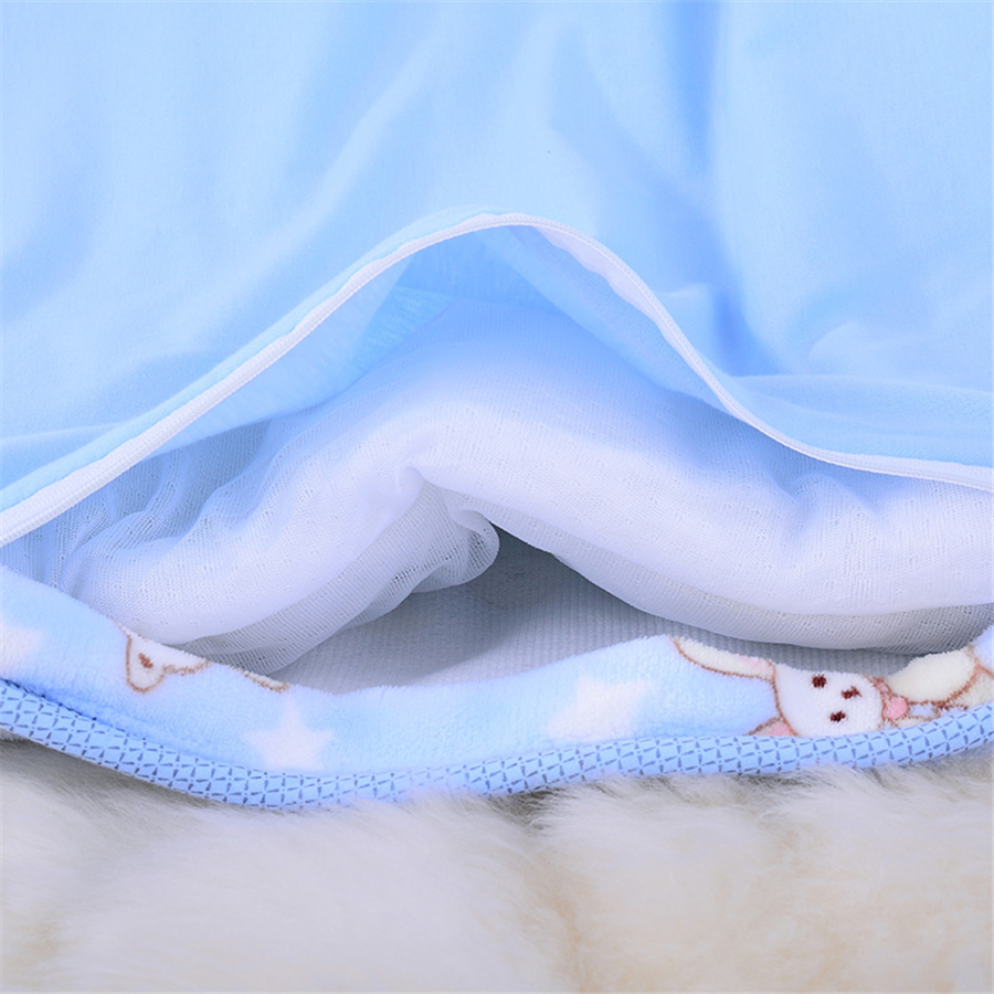 Spring Autumn Newborn Babe Blanklet Newborn Quilted Warm Infants Bags Cartoon Receiving Blankets Infant Blanket 50X0010<br>