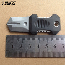 webbing buckle gear survive Outdoor Molle camp Mini beetle knife EDC gadget novelty bushcraft hike outdoor backpack attach(China)